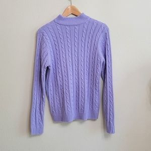 Evan Picone Cable knit sweater
